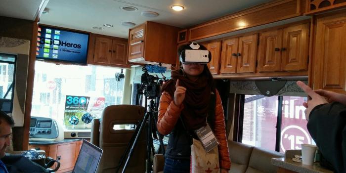 360 video VR gear
