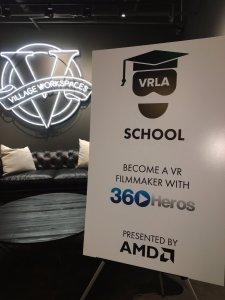 VRLA School Village Workspaces