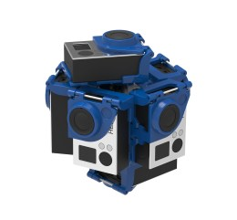 New Modular Pro7 360 Video Gear, easier and more reliable to use.