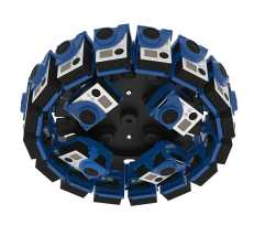 360RIZE Pro24E 360° Plug-n-Play Rig for GoPro Bottom