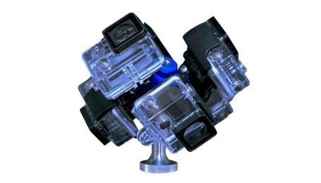 360H6 virtual reality 360° video gear