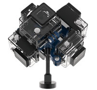 360RIZE Uni360 360° Rig for YI GoPro™ Garmin
