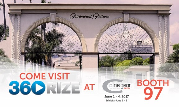 360Rize at 2017 CineGear Expo LA