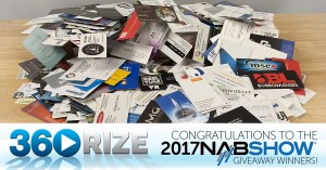 2017 NAB Show Giveaway