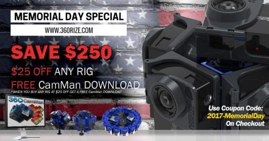 360Rize Memorial Day Special
