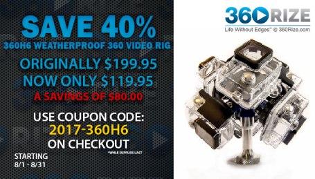 360Rize 360H6 Savings