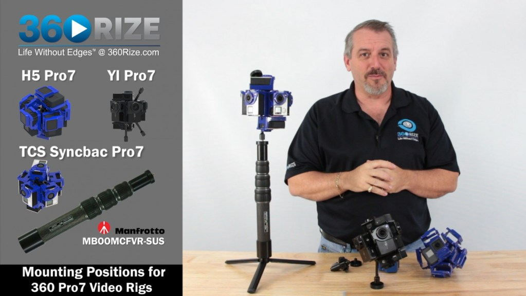 360Rize Pro7 Rig Mounting