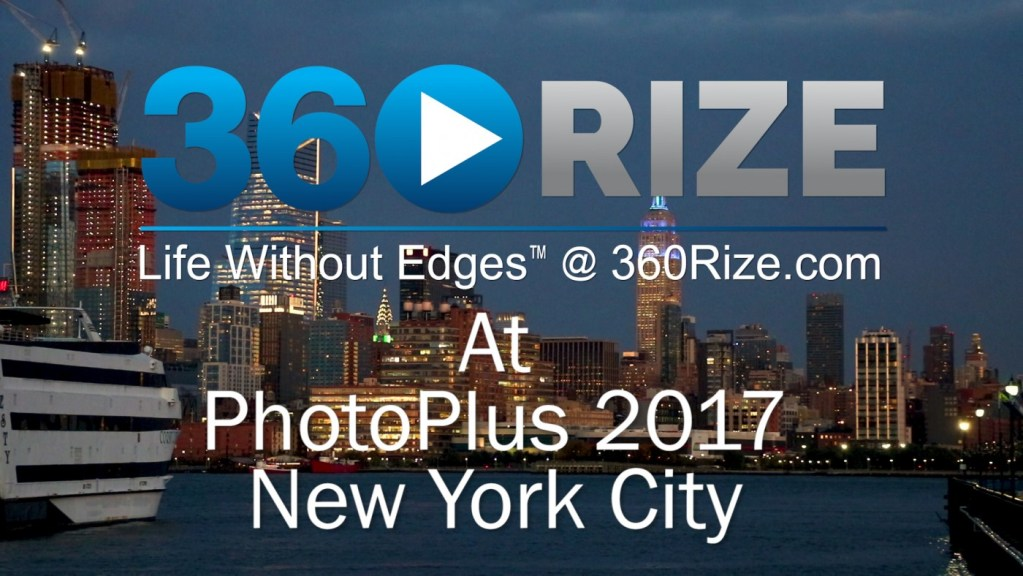 360Rize PhotoPlus 2017 New York City