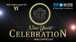YI 360 video gear