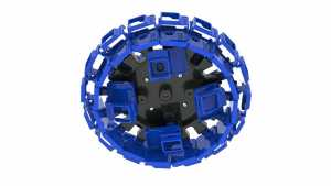 360Rize Pro24 for Hero 5/6 Bottom no cameras