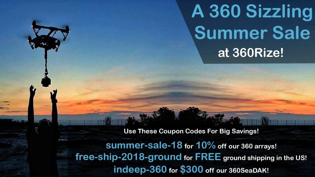 360Rize Summer Sale 2018