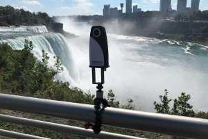 360Rize 360Penguin goes to Niagra Falls