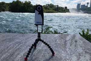 360Rize Taking 360Penguin action at Niaagra Falls