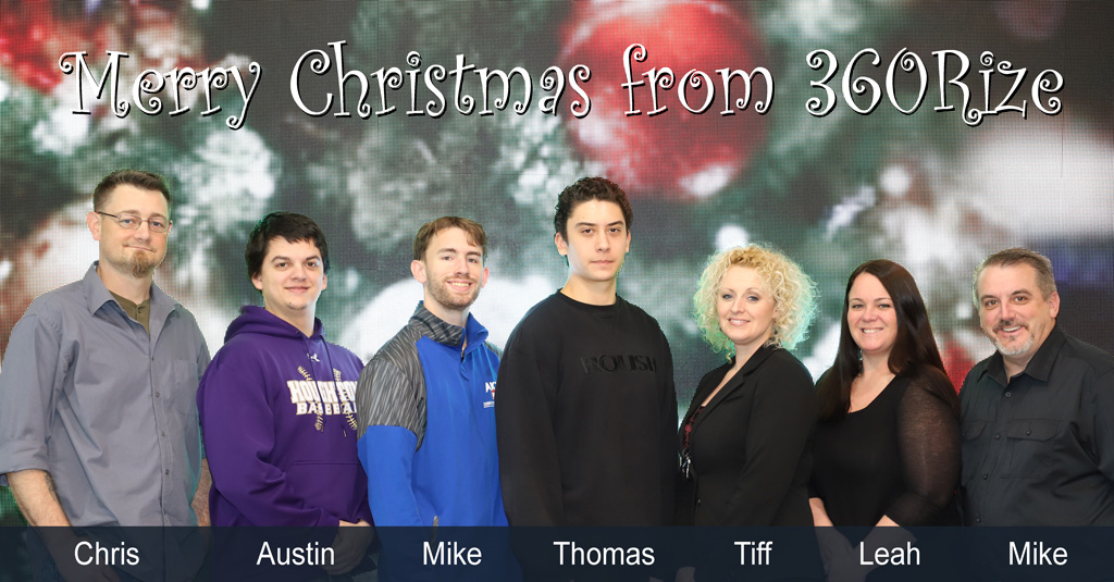 360Rize Christmas Team Photo