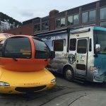 360Rize 360Penguin Bus Wienermobile