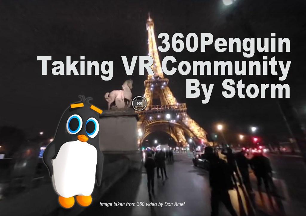 360Rize 360Penguin Eiffel Tower Don Amel