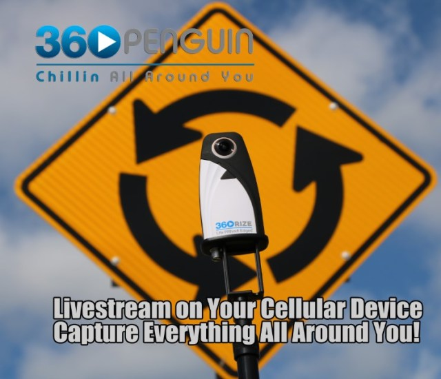 360Rize 360Penguin Live-stream on your cellular device