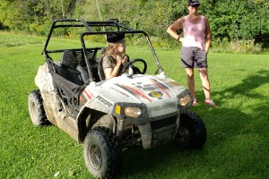 360Rize 360Penguin Renee and Laura Mudding with ATV and 360PenguinClear