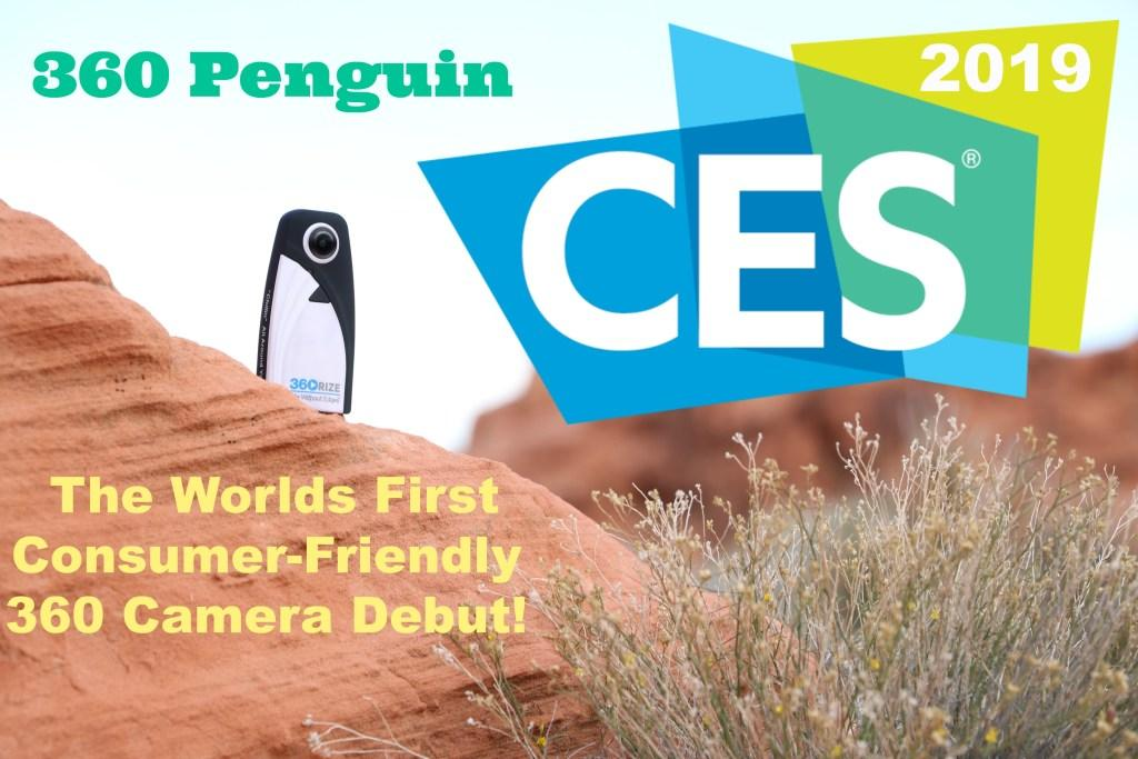 360Rize 360Penguin at CES 2019