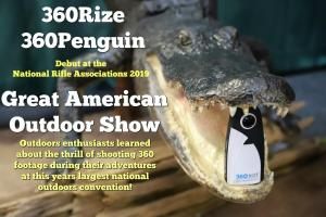 360Rize 360Penguin Alligator Mouth