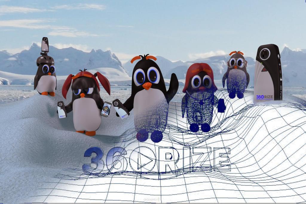 360Rize 360Penguin Wire-frame image
