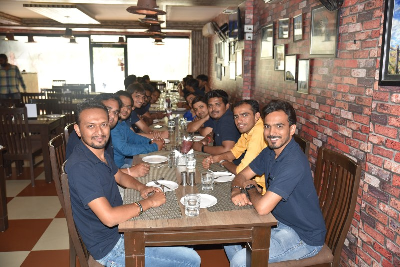 lunch with team