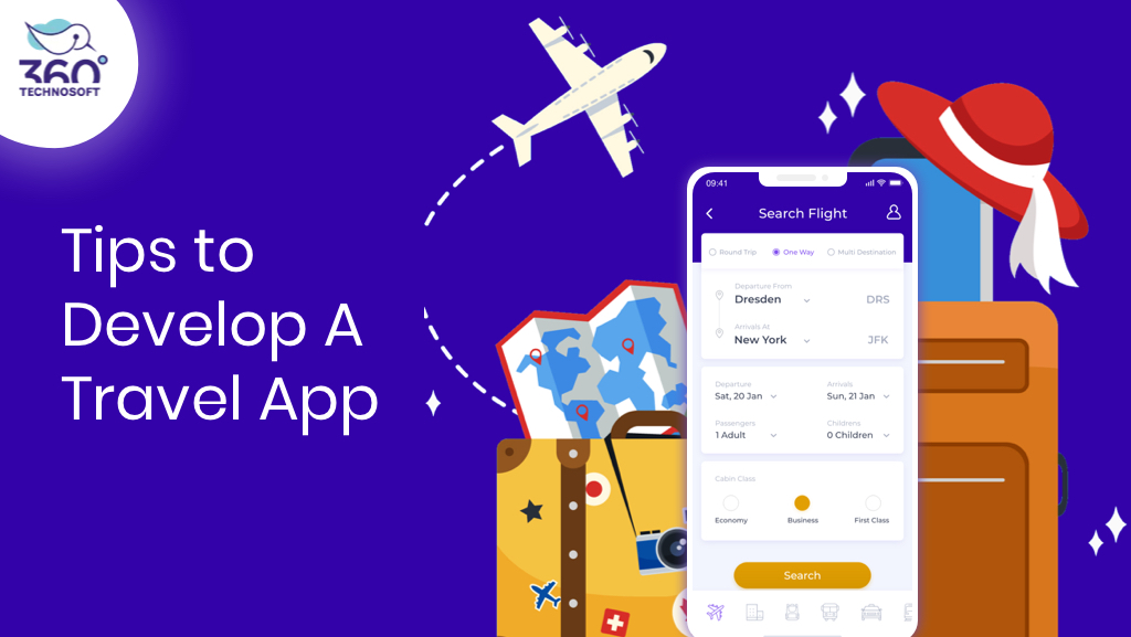 MStep by Step Guide on Travel App Development