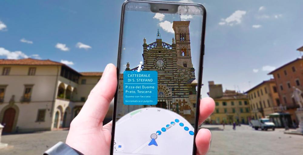 Goolge Maps realtà aumentata