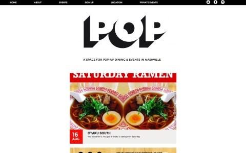 POPNashville.com - Home page
