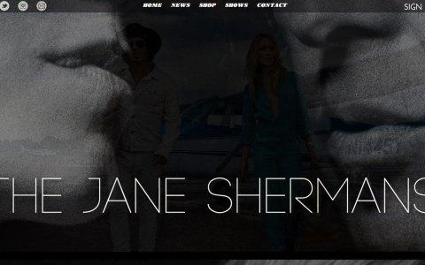 TheJaneShermans.com - Home page