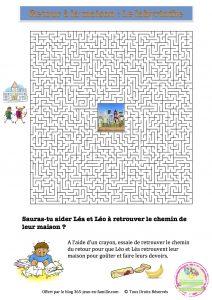 Jeu gratuit, Le retour de la maiosn - le labyrinthe