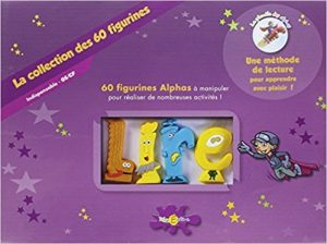 60 figurines coffret alphas