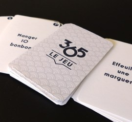 Photo 365 le jeu cartes prototypes