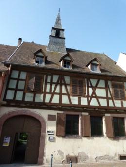 Das Geburtshaus von Albert Schweitzer in Kayserberg. ©Foto: akr