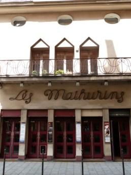 Das Théâtre les Mathurins. ©Foto: Anne-Kathrin Reif