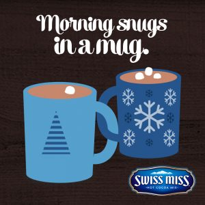 Swiss Miss Morning Snugs in a mug.