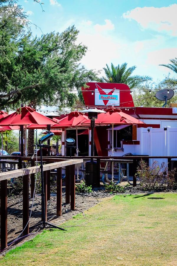 Handlebar Diner, Mesa, AZ.