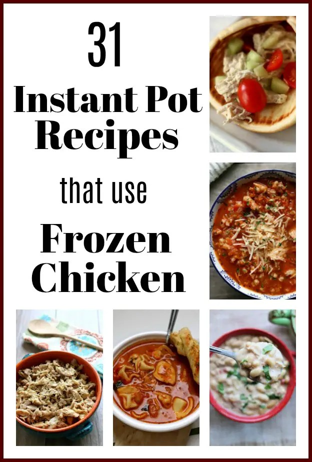 Instant Pot Recipes with Frozen Chicken Breasts - 365 Days ...