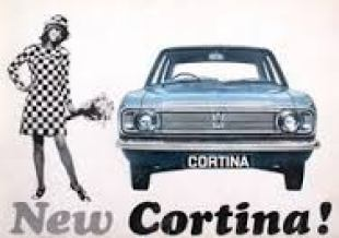 Ford Cortina Mk2 advertisement