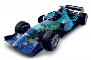 Honda F1 Earth Car