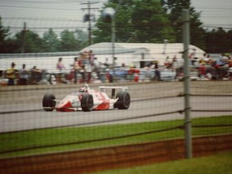 Eddie Cheever at the 1990 Indianapolis 500