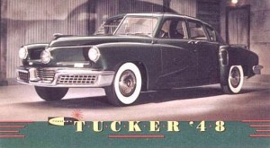 1948 Tucker ad card