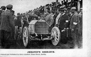 Jenatzy, 1903 Gordon Bennett winner, driving a Mercedes.