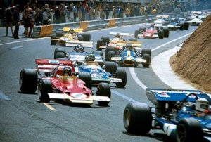 Start of the 1972 French Grand Prix