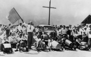 All-American Soap Box Derby - Dayton, 1934