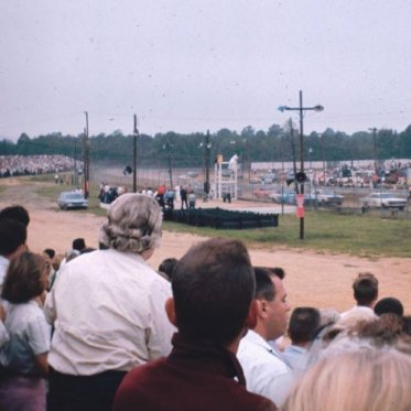 1967 Capital City 300. The last NASCAR race at Richmond's Fairgrounds Raceway before the 1/2 mile dirt track was paved with asphalt.