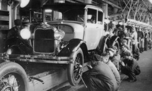 Ford Model A production line