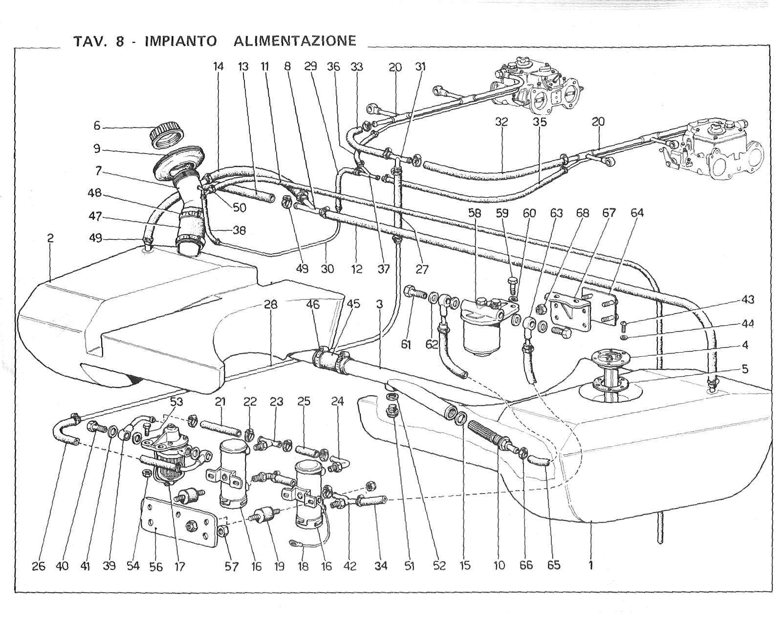 Fuel System Schematic