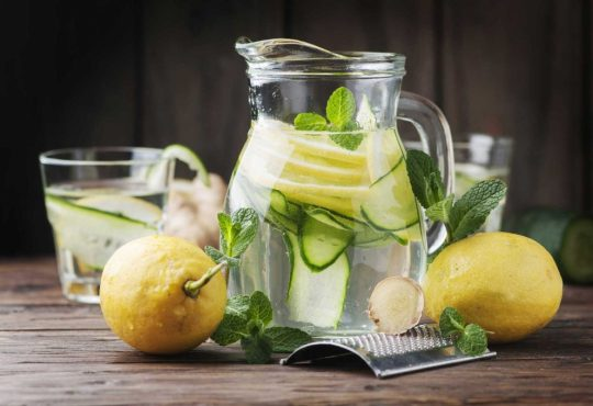 Cucumber water to lose weight