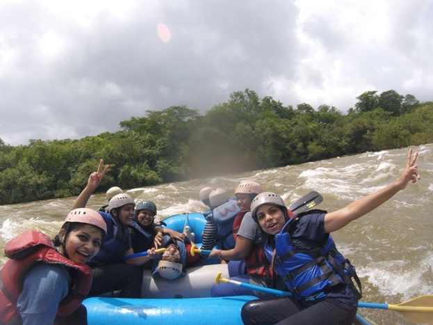 River Rafting at Kundalika
